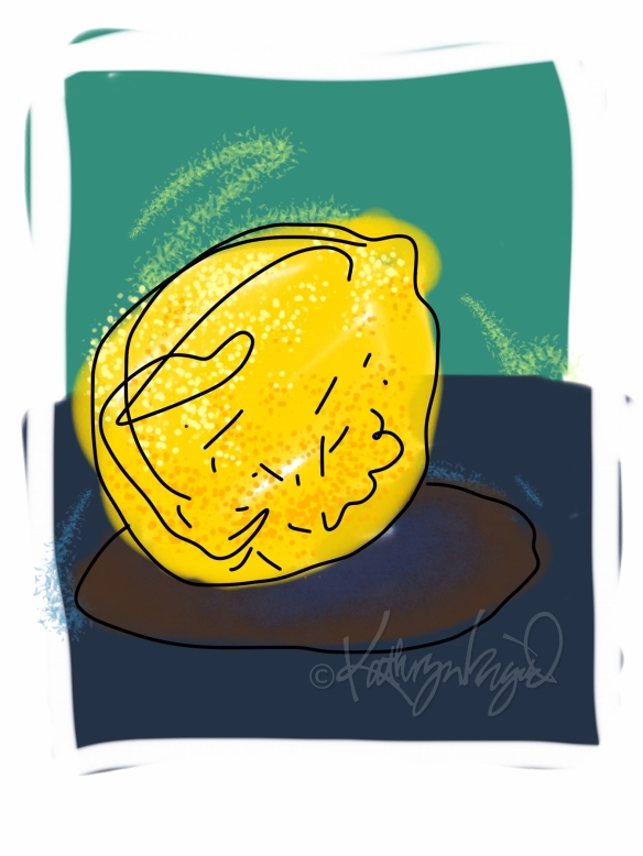 Digital illo: Lemon or Lemonade