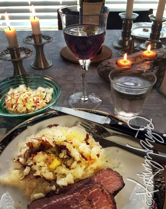Photo: Celebratory Dinner