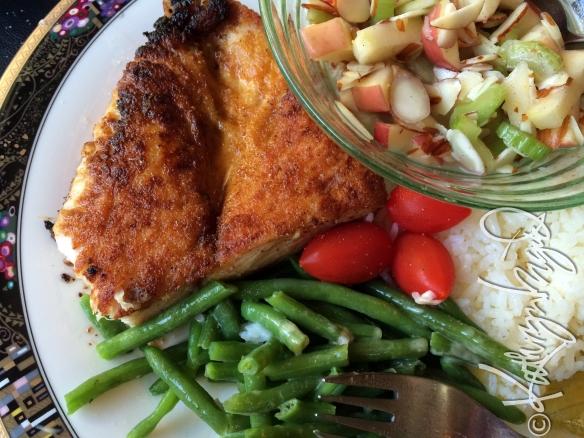 Photo: Chicken Amandine