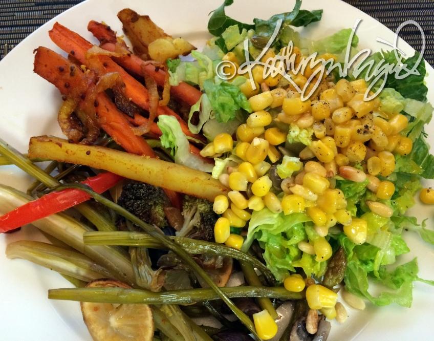 Photo: Roasted Veg for Dinner