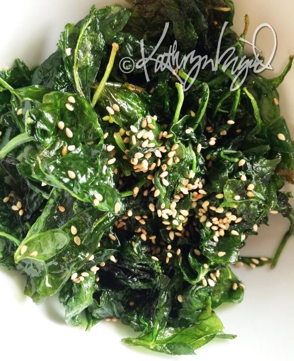 Photo: Flash-fried Salad