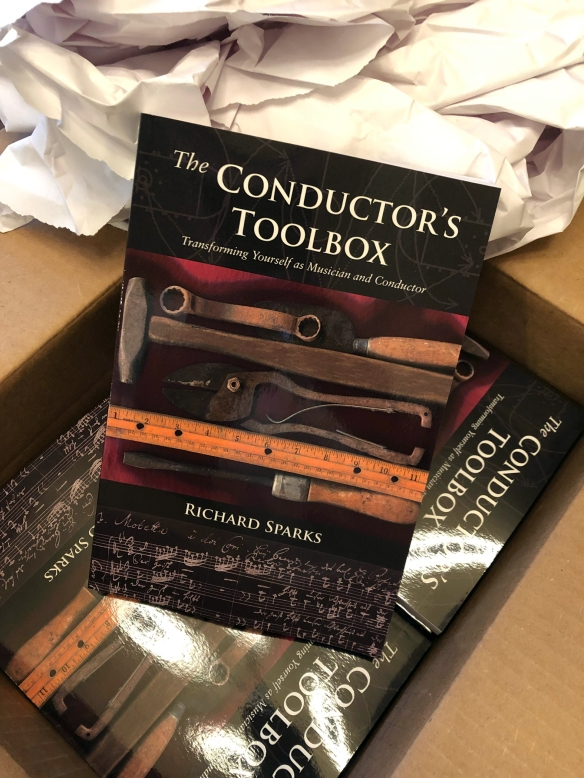 The Conductor's Toolbox.Richard Sparks.Book cover art.2019